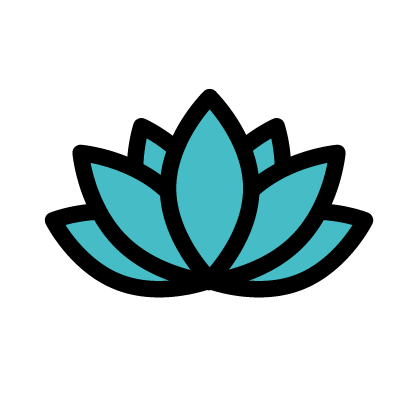 Flower icon to signify flower as Water Lily