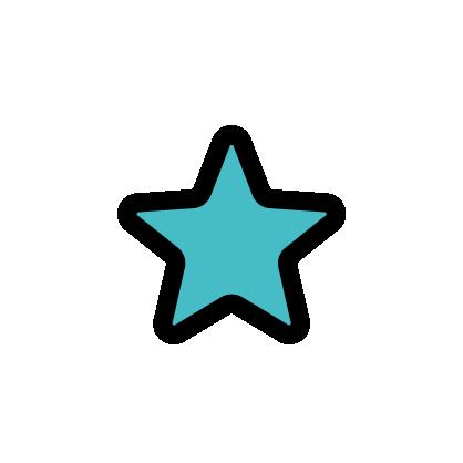 Star icon to signify celebrities as Michelle Obama, Kate Middleton, Regina King